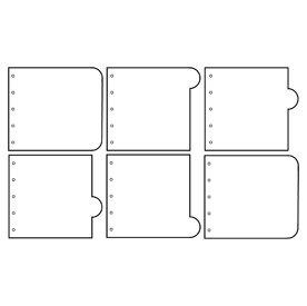 AC933-MR-Clear-Acrylic-5-ring-Round-Tab-book